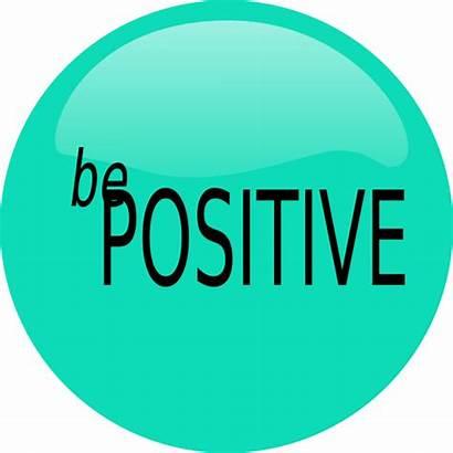 Positive Clipart Sign Clip Attitude Cliparts Positivity
