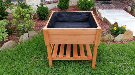 how to build a raised vegetable garden with legs ebay