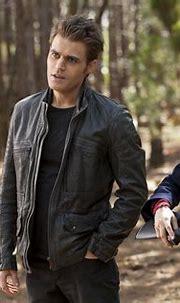 Nina Dobrev as Elena and Paul Wesley as Stefan in The ...