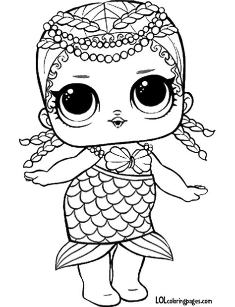 lol doll coloring pages kolorowanka coloring pages