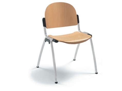 chaise accueil bureau chaise d accueil wood en bois