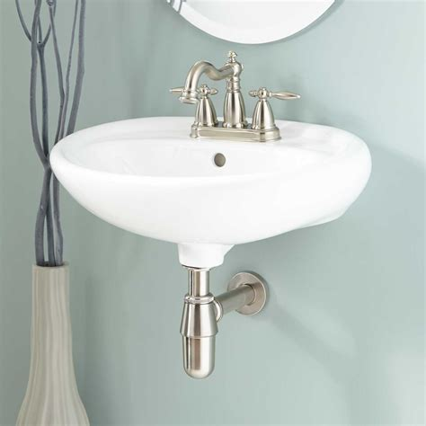 gretchen porcelain wall bathroom sink bathroom