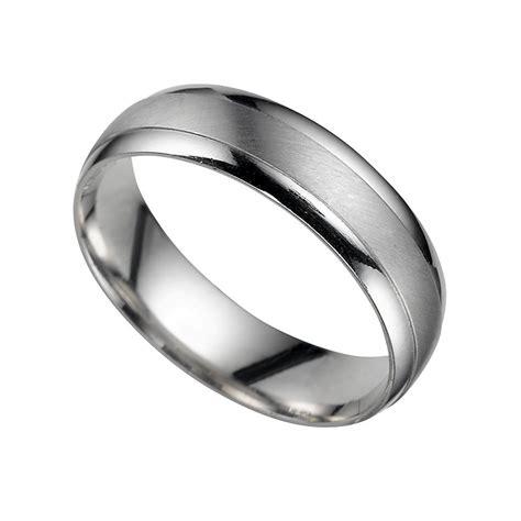 platinum 5mm court wedding ring ernest jones