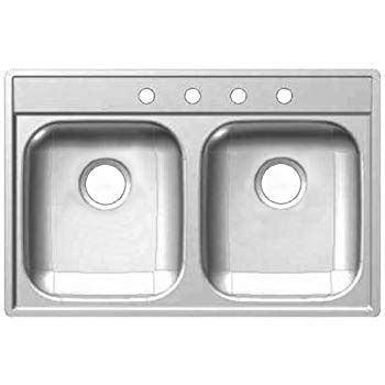 frankie kitchen sinks franke kindred 1634 1059 kindred fds804n 22 quot x 33 quot x 8 1059