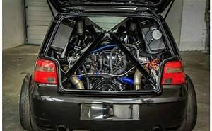 Golf 1 Turbo : crazy vw golf packs a twin turbo lamborghini v10 engine ~ Kayakingforconservation.com Haus und Dekorationen