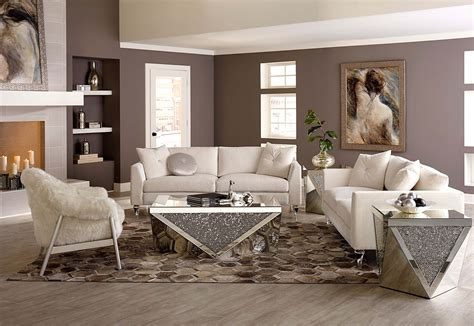 Michael Amini Sofas Gie Living Room Set By Aico Furniture