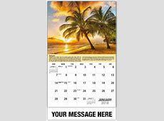 Destinations of the World 65¢ World Travel Promo Calendar