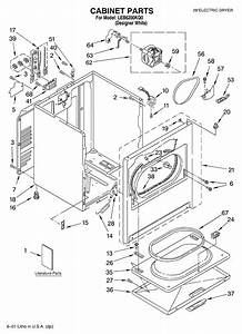 Whirlpool Leb6200kq0 Dryer Parts