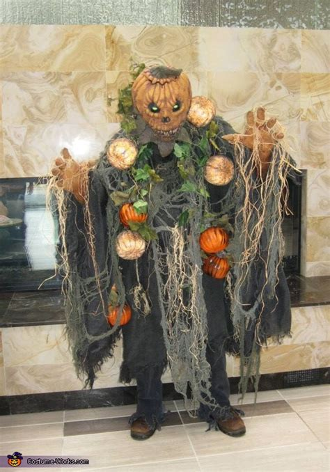 pumpkin man halloween costume
