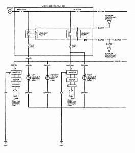 Acura Tl  2002  - Wiring Diagrams - Headlamps