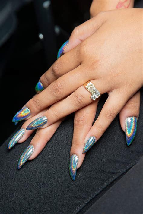 nyfw spring  nail trends popsugar beauty australia