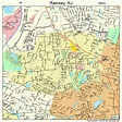 Ramsey New Jersey Street Map 3461680