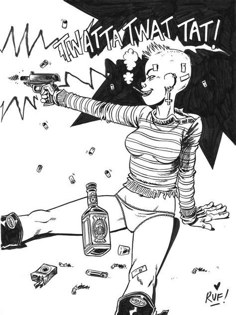 101 best TANK GIRL - RUFUS DAYGLO art images on Pinterest | Tank girl, Sketch books and Sketchbooks
