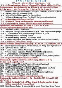 27 Octombrie - calendar ortodox