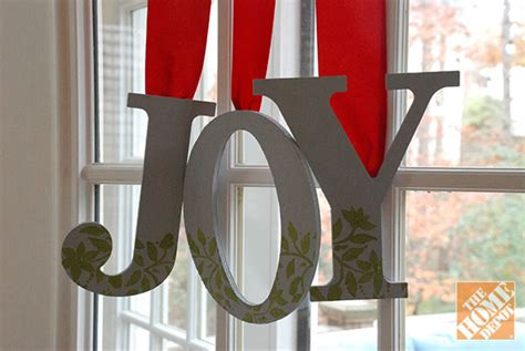 Letter N Home Decor :  Decorated Wooden Letters
