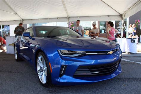 2018 Chevy Camaro Hits Detroit For Woodward Dream Cruise