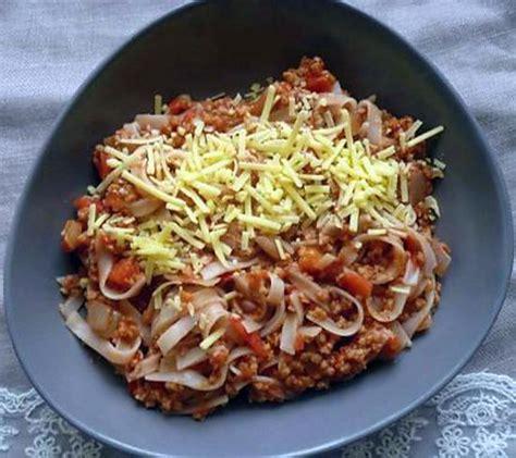 recette de cuisine sans viande recette de pâtes bolognaise sans viande