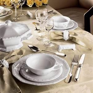 Rosenthal Geschirr Weiß : rosenthal tradition maria wei tafelservice 12 tlg ~ Michelbontemps.com Haus und Dekorationen