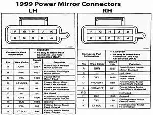 1999 Chevy Tahoe Rear View Mirror Wiring Diagram