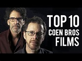 Top 10 Coen Brothers Films | Ryan's Theory - YouTube