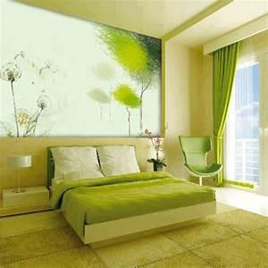 Bilder Tapeten Schlafzimmer : farbideen schlafzimmer die sie bei der zimmergestaltung inspirieren ~ Frokenaadalensverden.com Haus und Dekorationen