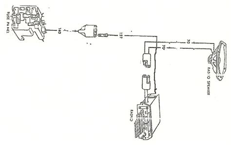 radio wiring on 1966 mustang ford mustang forum