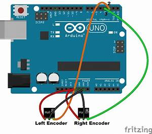 Wiring The Encoders With Arduino