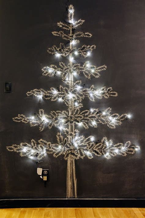 chalkboard christmas tree ideas wallumscom wall decor