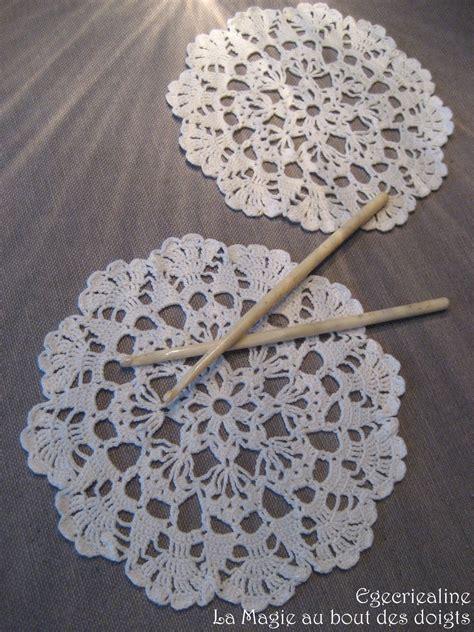 tuto napperon crochet debutant