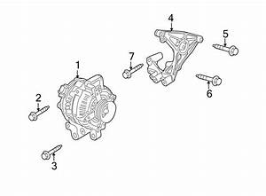 Buick Verano Bolt  Bracket  Alternator   Front  Rear