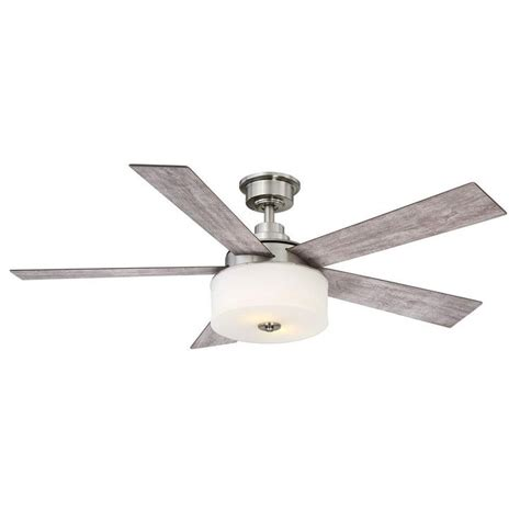 brushed nickel ceiling fan with gray blades best 20 brushed nickel ideas on