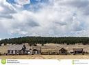 Historic Hornbeck Homestead Colorado Ranch Farm Stock ...