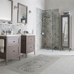 carrelage salle de bain nos modeles preferes cote maison With ordinary mur couleur taupe clair 16 deco salon vert deau