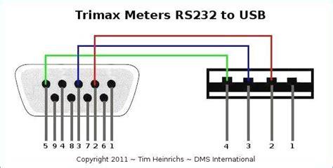 usb to serial port wiring diagram pores co