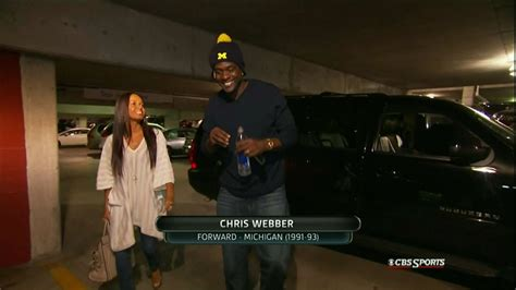 michigan  louisville chris webber shows   national