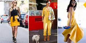 porter le jaune 25 looks pour porter la couleur tendance With quelle couleur avec du jaune 8 comment porter la couleur bordeaux