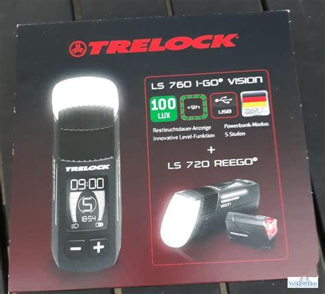 trelock ls 760 test trelock ls 760 i go 174 vision velostrom pedelec