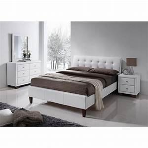 lit 2 personnes pas cher avec sommier et matelas maison With chambre design avec biotex matelas