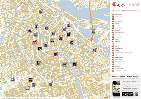 amsterdam tourism map