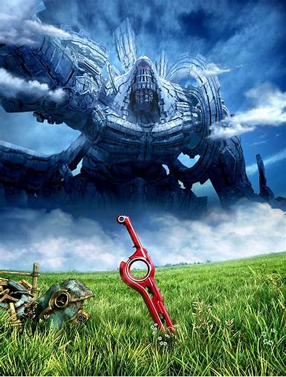 Xenoblade Chronicles Wii Artwork Phone Games Wallpapers