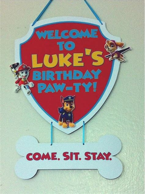 17 Best Images About Paw Patrol Party On Pinterest  Food. Screen Murals. Inner Signs. Carnival Murals. Transportation Murals. May 25 Signs Of Stroke. Person In School Signs. African American Stickers. Post Office Signs Of Stroke