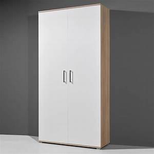 meuble a chaussures 40 paires 2 portes en bois With meuble a chaussure grande capacite