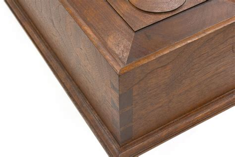 kerfing mitered dovetail joints chuck bender woodworking