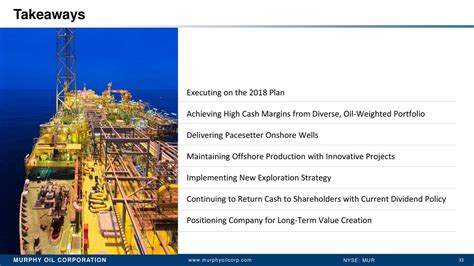 Murphy Oil (MUR) Presents At Oil & Gas Corporate Access ...