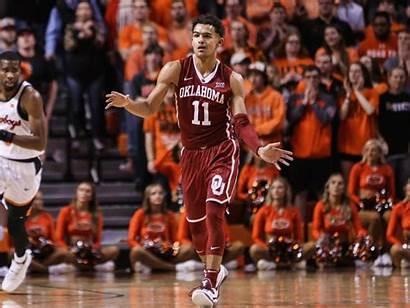 Trae Young Oklahoma Basketball Shimmy Point Three