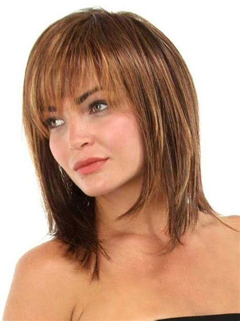 medium to haircuts for 50 25 best ideas about mid length hair styles for 3408