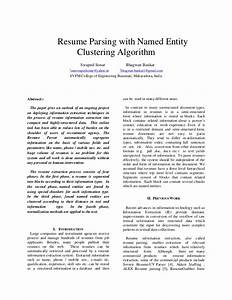 resume extraction annecarolynbird With resume parser free