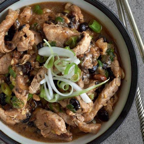 pork  black bean sauce  happy foodie