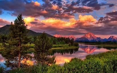 Summer Mountain Wallpapersafari Forest Lake Desktop Mountains