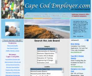 Capecodemployercom Cape Cod Jobs And Cape Cod Employment